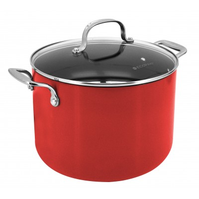 Ecopan Delight 24cm Stockpot Red