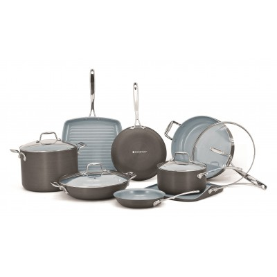 Ecopan Hard Anodized Cookware Set